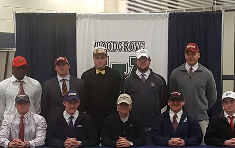 Woodgrove Football Players Commit to Colleges