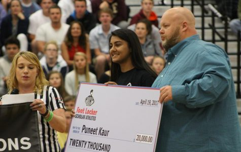 Puneet Kaur Awarded $20,000 College Scholarship as Part of the Sixth Annual Foot Locker Scholar Athletes Program