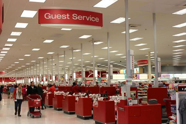 Target remains busy even after hacking.  Photo by Carl Huber