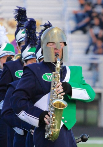Marching Band Places Second in First Competition