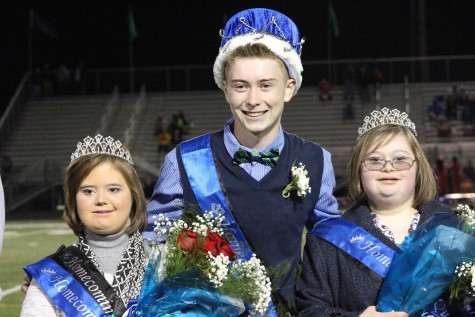 Cook and Delitta Share Crown as Homecoming Queen; Klimek Reigns as King