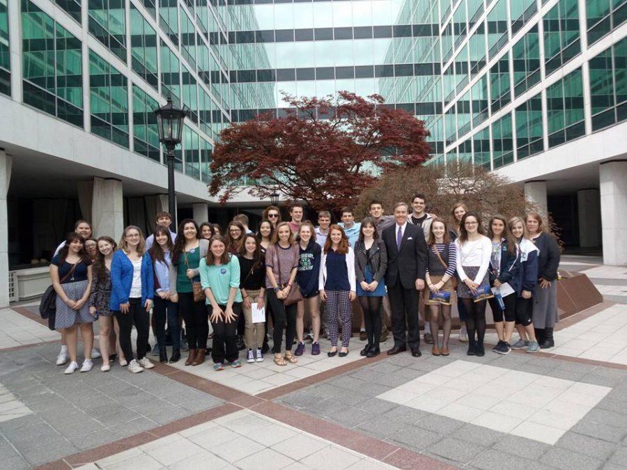 Woodgrove%27s+Newspaper+Staff+Visits+C-SPAN
