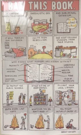 Woodgrove Celebrates Banned Books Week