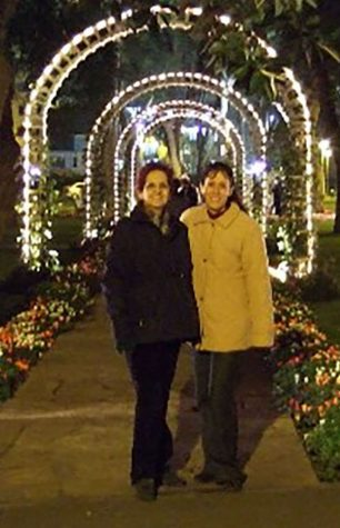 Mrs. Fernandez and her Mother in Lima Peru.