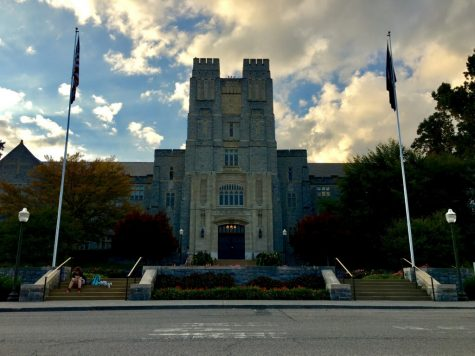 Buress Hall at Virginia Tech University. Photo by Grace Robinson