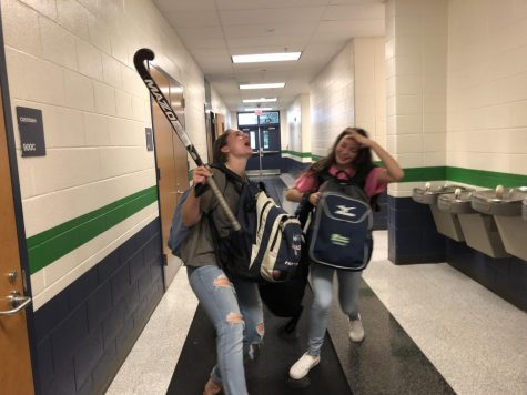 Mia Cammarota and Carissa Vergeres struggling to manage their extracurricular activities.