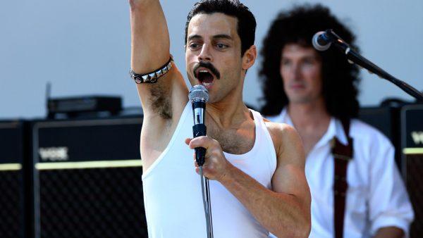 Actor Rami Malek as iconic musician Freddie Mercury in the 2018 film, Bohemian Rhapsody