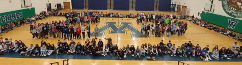 The Class of 2023 during Expo Day.