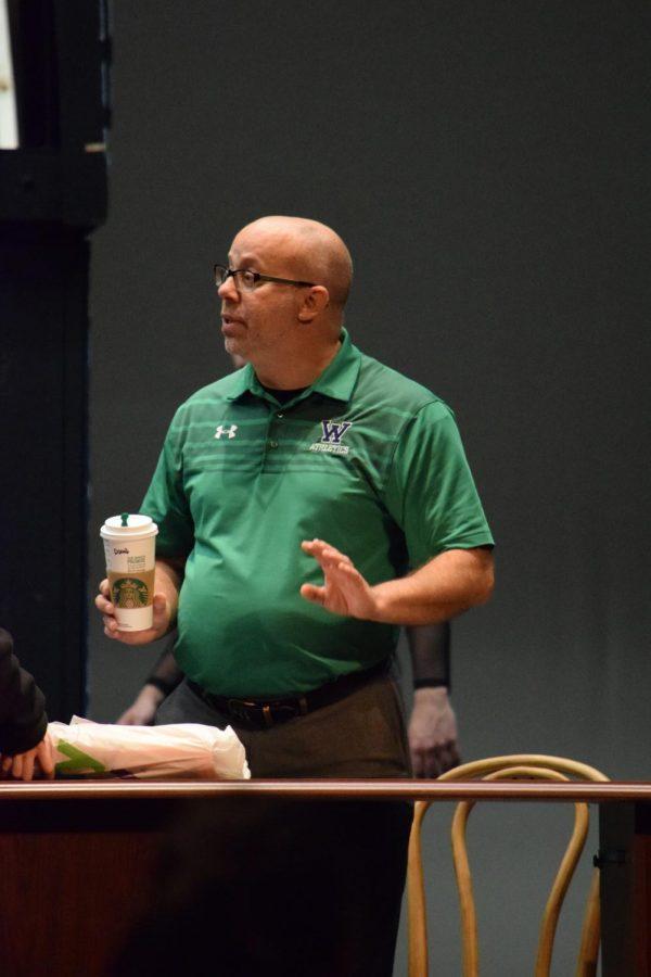 Woodgrove Bids Farewell to Theatre Director Mr. David Noland