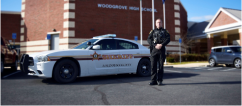 Woodgrove+Resource+Officer+McCarten.+Photo+by+Lorallye+Partlow