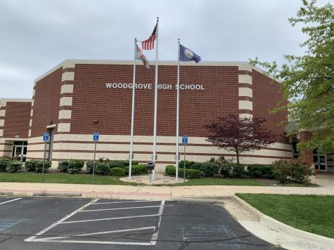 Woodgrove High School during the school closure. Photo taken by Mia Cammarota.