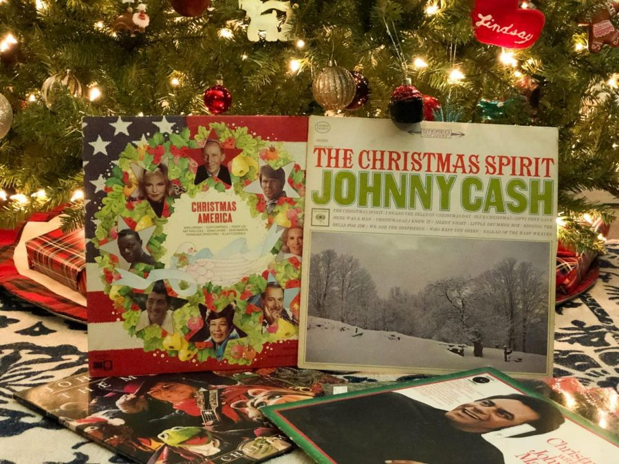 Classic vinyls captured in the holiday spirit.