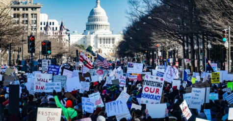 Biden Supporters take to the streets of DC to celebrate his win. Photo - Creative Commons